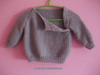 Os meus artigos de tricot (e desabafos de mãe): E sai mais uma camisola para a Diana