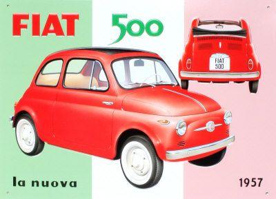 1957 - Fiat 500.
