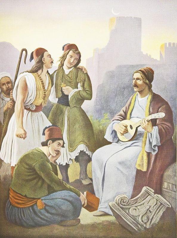 Ο Ρήγας εξάπτει τον προς ελευθερίαν των Ελλήνων έρωτα, 1827-34