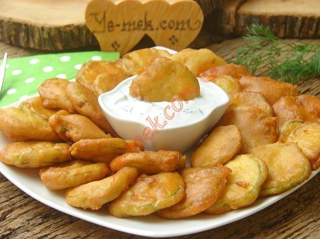 Sütlü Kabak Kızartması Resimli Tarifi - Yemek Tarifleri