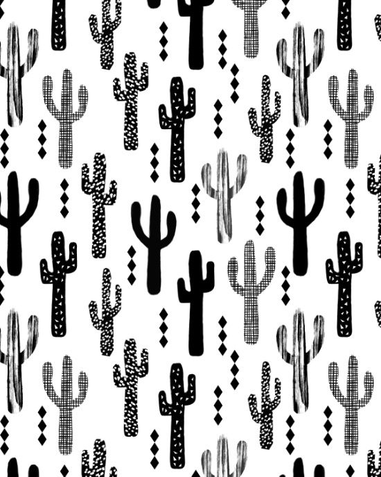 Screen Printing Basics Palm Desert: 25+ Best Ideas About Cactus Pattern On Pinterest