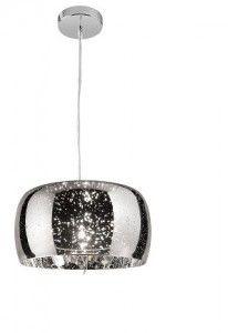 Lampa sufitowa COSMO chrom Efekt 3D wisząca
