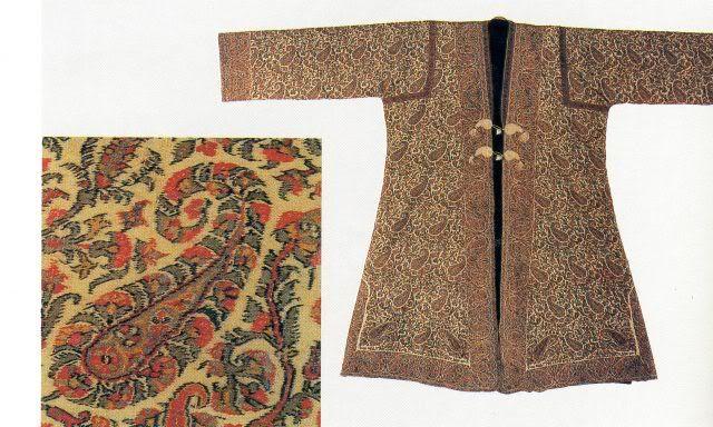 Paisley Shawl History - threadsofhistory.blogspot.com