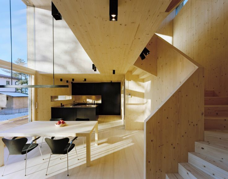 Cross-laminated timber | by Stora Enso in Sistrans, Austria