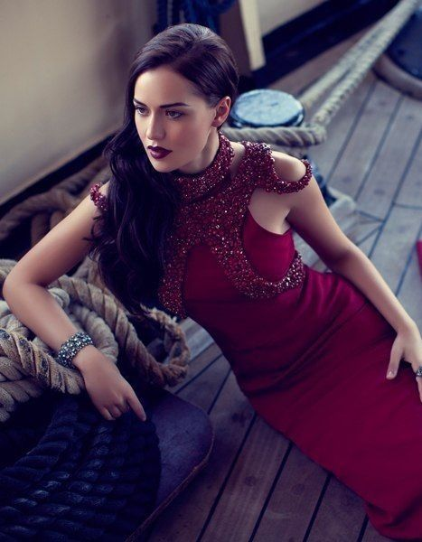 Turkish actress Fahriye Evcen