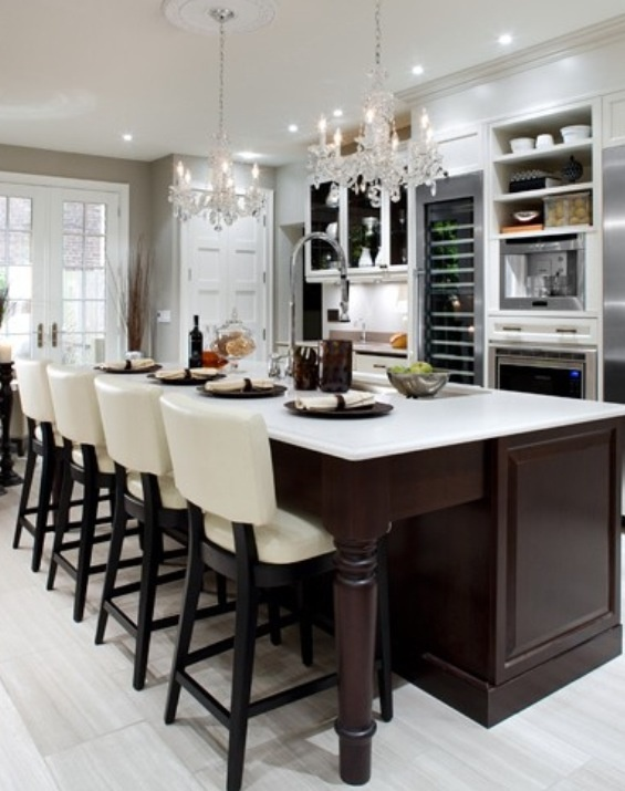 Where are the property brothers now two tone kitchen for Kitchens now