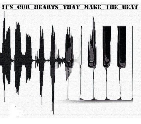 It's not the speakers that bump hearts it's our hearts that make the beat