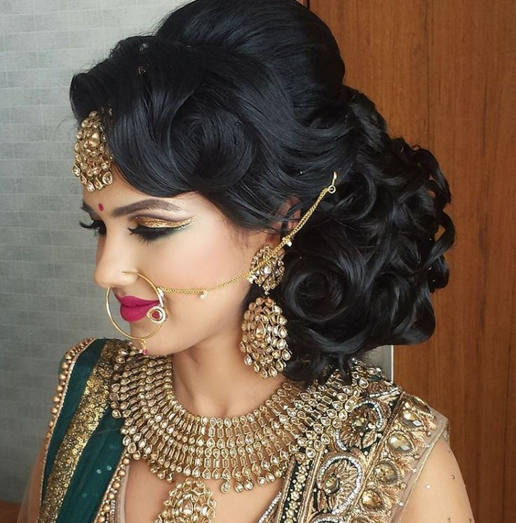 Best 25+ Indian wedding hairstyles ideas on Pinterest | Indian ...
