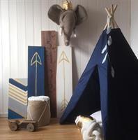 Teepee Tent navy