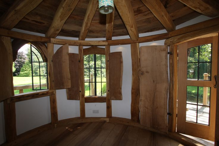Interior of a tree house