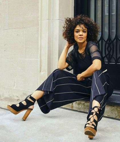 Tessa Thompson for The Hollywood Reporter photographed by Tawni...
