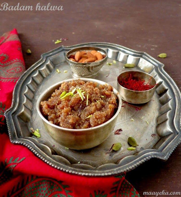 how to make badam halwa