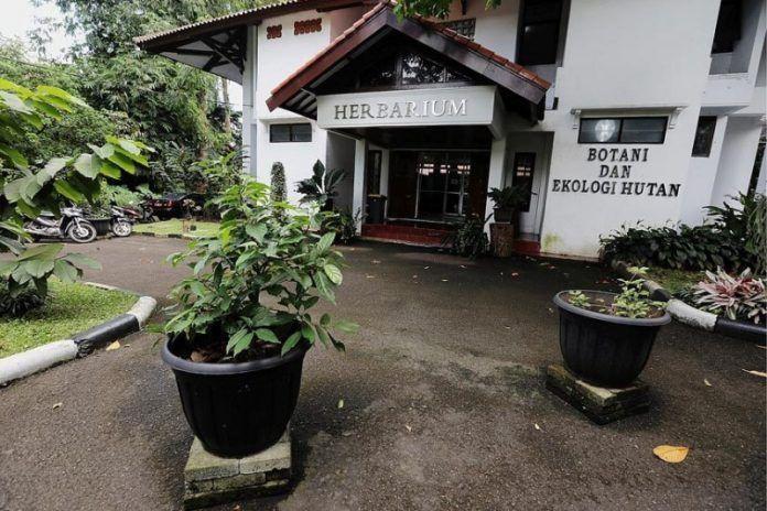 Gedung kantor Puslitbang Hutan, Bogor, Jawa Barat.