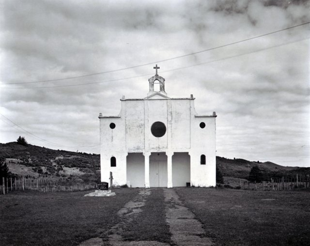 Catholic church, Lower Waihou, Hokianga Harbour, Northland, 1971