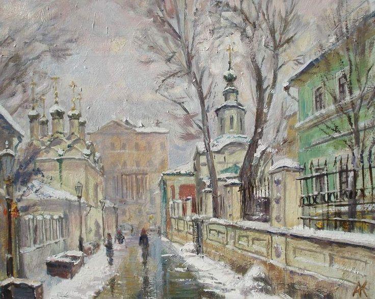 Художник А.Ковалевский Черниговский переулок