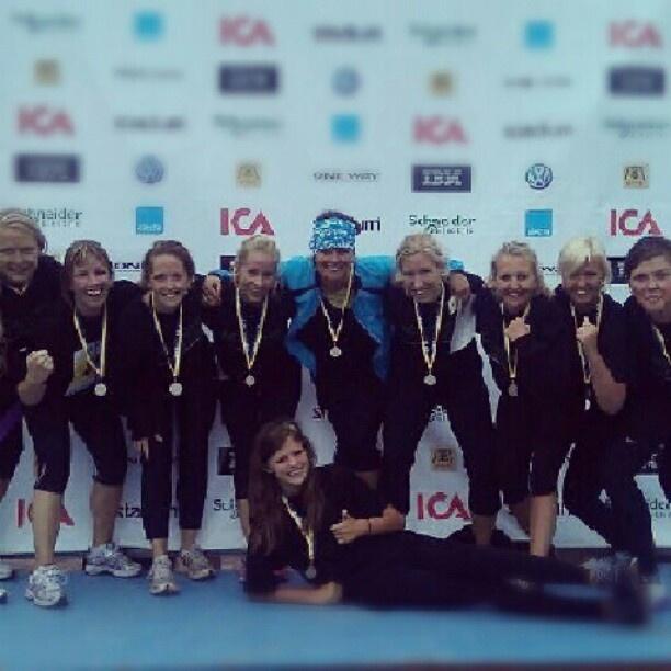 """@academicwork's photo: """"Lagfoto när teamet samlas i mål i Mora"""""""