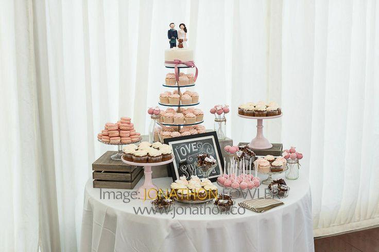 Glencorse House wedding photos - Lauren and Wayne - wedding cakes