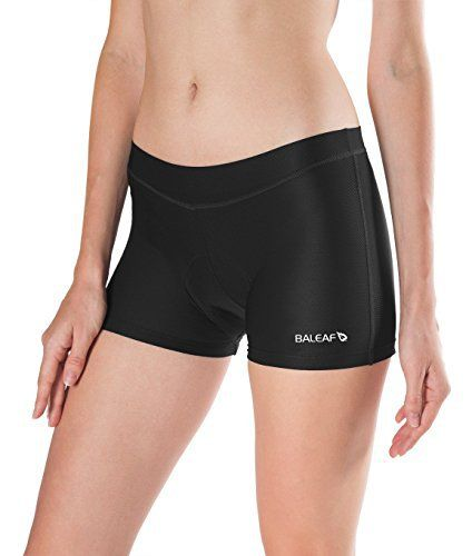 Baleaf Women's 3D Padded Cycling Underwear Breathable Cool Mesh - http://ridingjerseys.com/baleaf-womens-3d-padded-cycling-underwear-breathable-cool-mesh/