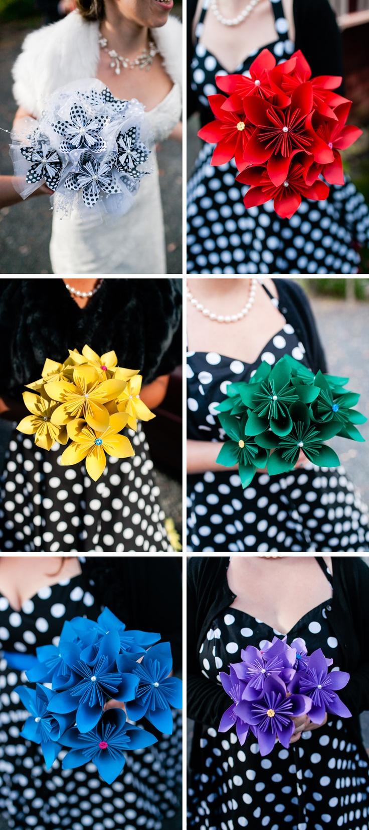 Best 25 origami bouquet ideas only on pinterest paper bouquet diy origami wedding bouquets photos by casey fatchett fatchett dhlflorist Image collections