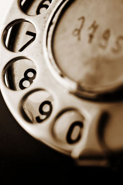 Telefoon met draaischijf | Vintage Telephone #retro