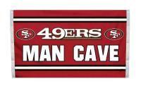 San Francisco 49ers MAN CAVE 3'x 5' NFL Flag #49ers