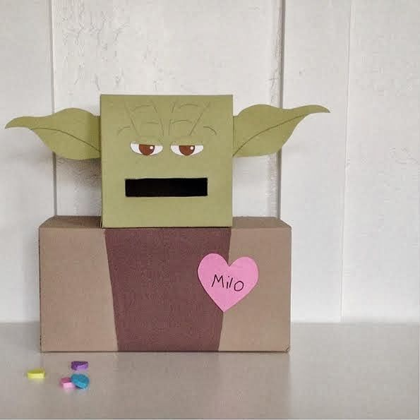 Yoda Valentines Box