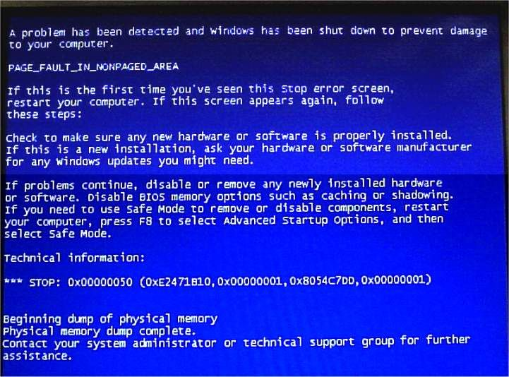 Methods to fix PAGE_FAULT_IN_NONPAGED_AREA Errors in Windows 10