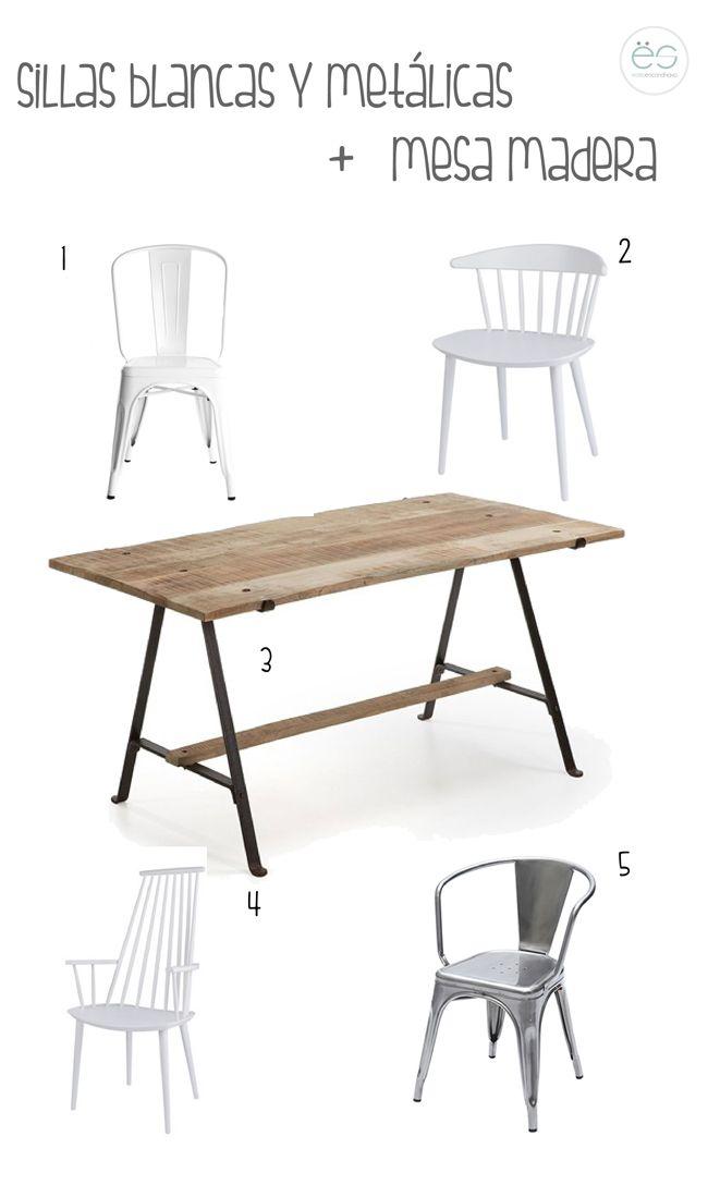 Mix de sillas | Estilo Escandinavo