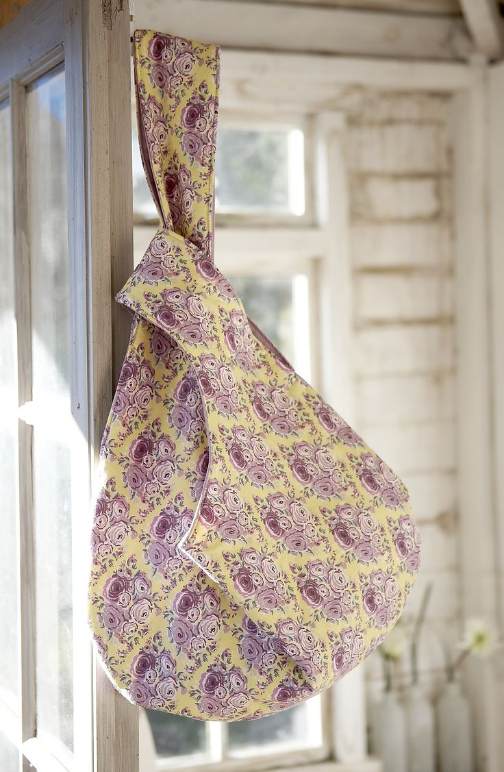 Japanese Knot Bag tutorial/template Debbie Shore