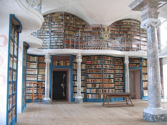 This reminds me of a real-life Belle's library