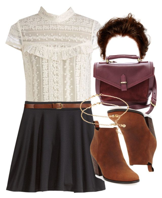 """""""Allison Inspired Birthday Dinner Outfit"""" by veterization ❤ liked on Polyvore featuring H&M, Madewell, Cole Haan and ASOS"""