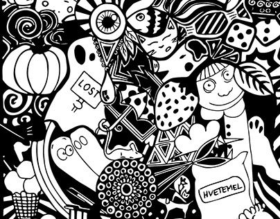 """Check out new work on my @Behance portfolio: """"Doodles"""" http://on.be.net/1HpGb8U"""