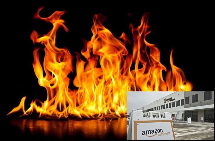 Störung durch Feuer in #Amazons #Fulfillment Center in Tschechien PRG2  #FBA #Privatelabel