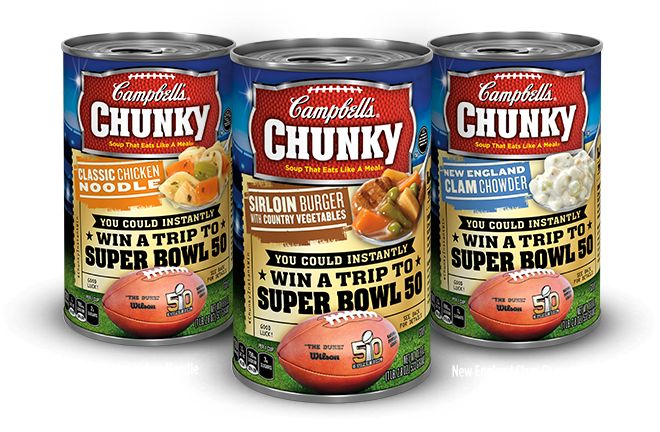 Enter to Win: FREE Campbell's Chunky Soup - http://www.guide2free.com/food-and-drink/enter-to-win-free-campbells-chunky-soup/