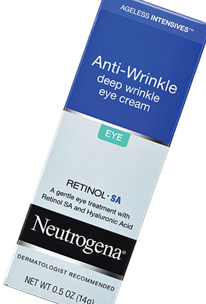 Neutrogena Ageless Intensives Anti-Wrinkle Deep Wrinkle Eye Cream, $18.99