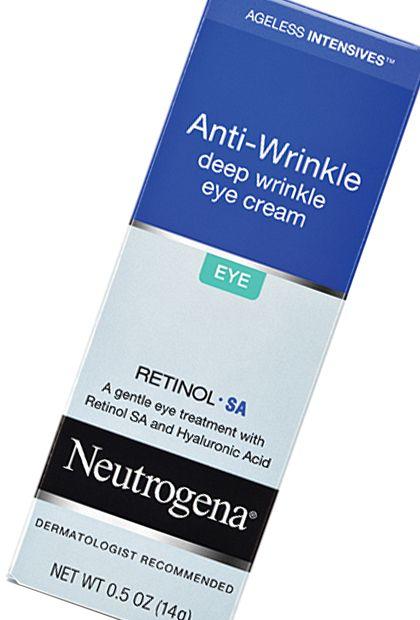 Neutrogena Ageless Intensives Anti-Wrinkle Deep Wrinkle Eye Cream, $18.99