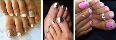 Resultado de imagen para imagenes para uñas de los pies para fiesta paso a paso
