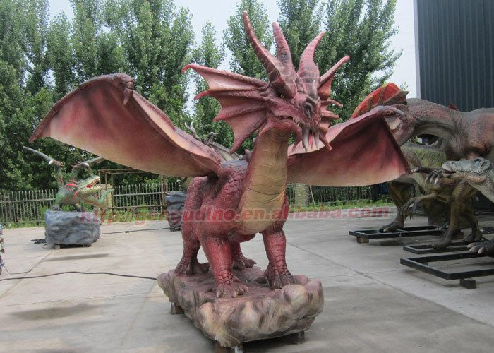 Pixie And Dragon Home And Garden Ornaments