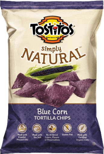 TOSTITOS® SIMPLY NATURAL™ Blue Corn Restaurant Style Tortilla Chips