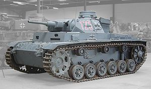 PzkpfWg III. The Panzer III was one of the most common tanks fielded by the Germans in the Second World War.  Although available in limited numbers early, it outclassed allied tanks in the battles for Poland, Belgium and France. Fielded in large numbers by the time of Operation Barbarossa, it was out gunned by KVs and T-34s, but outclassed the BTs that still made up the majority of Russian armored forces. It was largely replaced by the Pz IV later in the war, since the larger turret ring on…