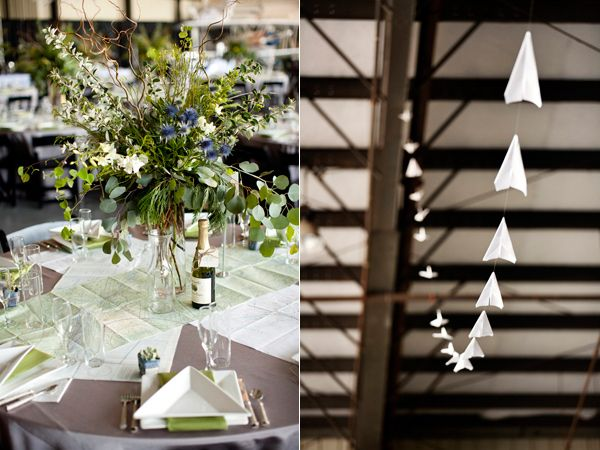 California Hangar Wedding