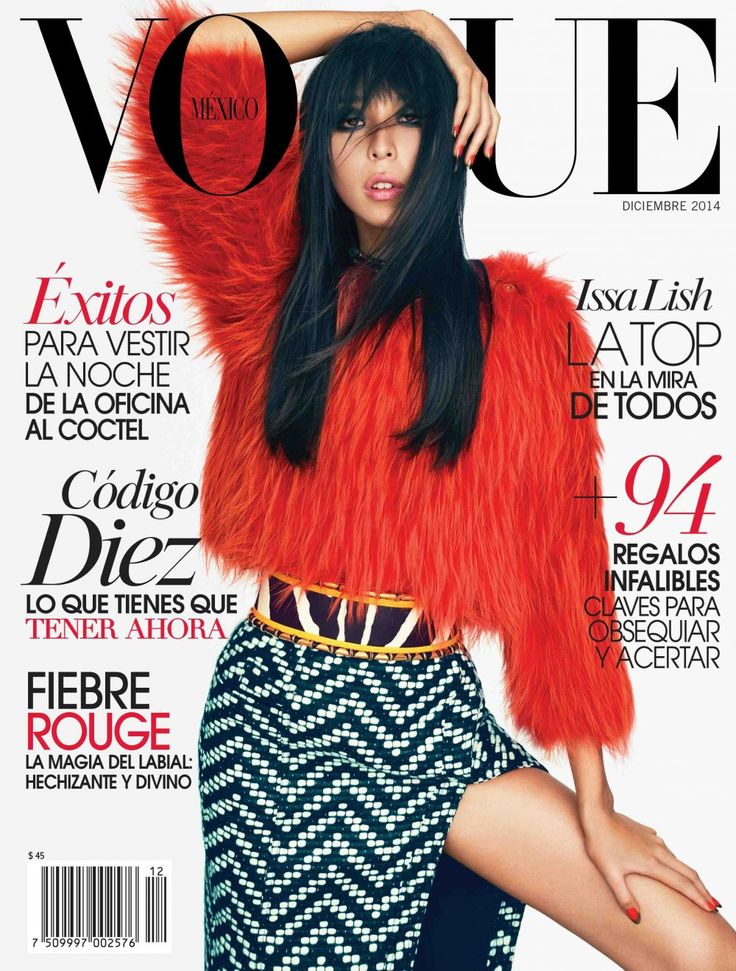 Issa Lish by Alexei Hay for Vogue Mexico December 2014