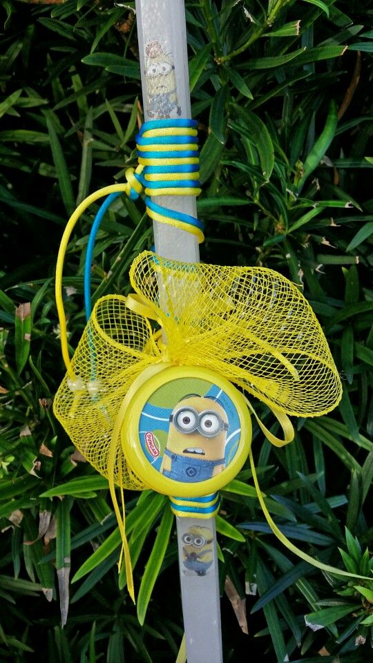 Despicable me 2 easter lambada candle $ 30