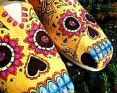 Sugar Skulls Custom Hand Painted TOMS Shoes   Custom Shoes ...