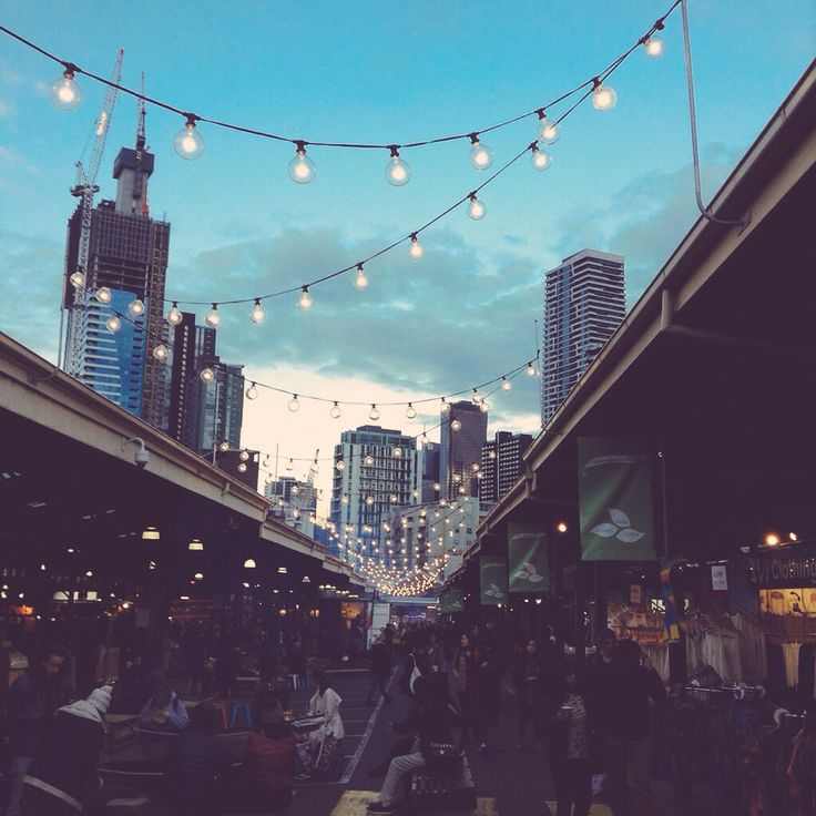 Queen Victoria Night Market Melbourne, Australia