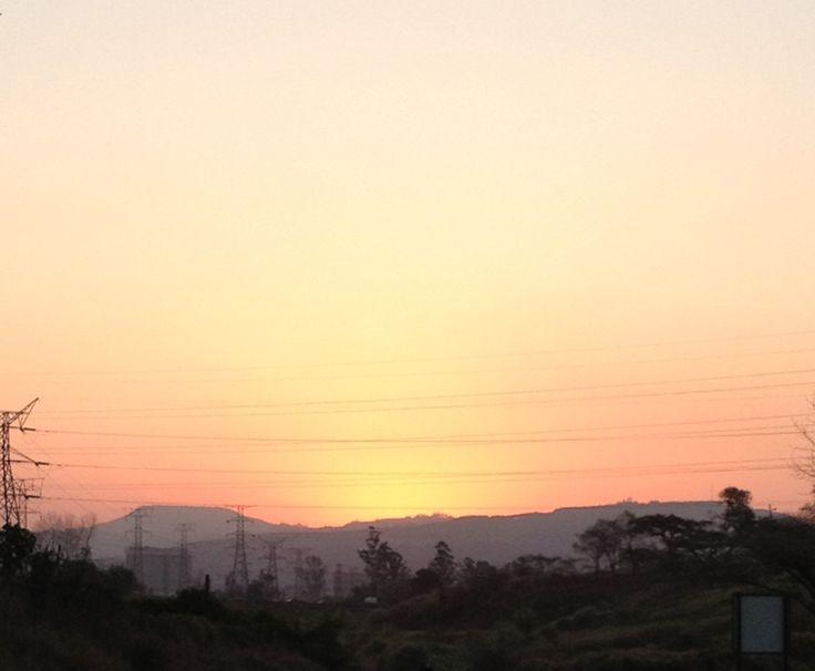...view from Low level bridge, Pietermaritzburg. By KAT