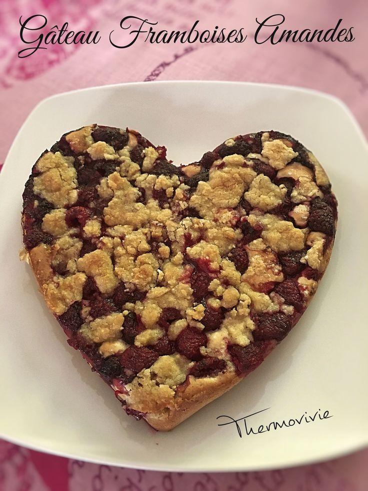 Gâteau framboises amandes, recette au Cook Expert