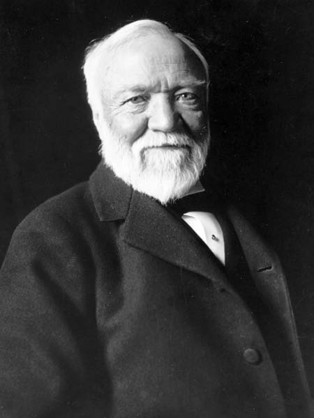 Andrew Carnegie. Hoped for heaven, but as intelligent as he was, likely doubted he'd get in..