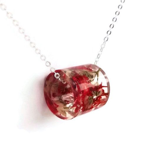 Resin+Tube+Necklace+with+Red+and+White+by+SpottedDogAsheville