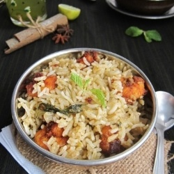 Cabbage and Prawn 65 Biriyani by jopreet